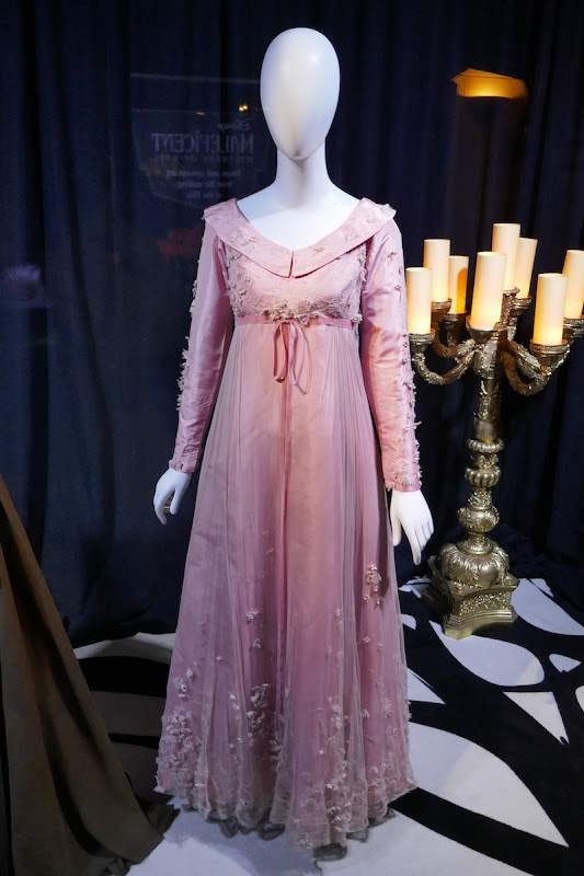 Elle Fanning Maleficent Mistress Evil Aurora engagement dinner dress