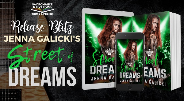 Jenna Galicki's Street of Dreams Release Blitz