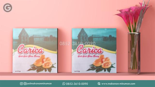 Jualan Manisan Carica | +62 852-3610-0090