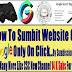 How To Rank Website Easily Submit Website One Click on Google