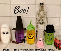 Blog With Friends, a multi-blogger project based post incorporating a theme, Boo. | A Little Halloween Fun in the Shower by Tamara of Part-time Working Hockey Mom | Featured on www.BakingInATornado.com