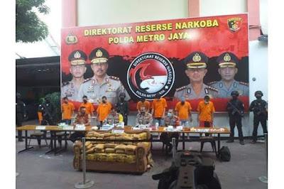 Kapolda Metro Jaya : Permintaan Narkoba di DKI Selama Pandemi Covid-19 Meningkat