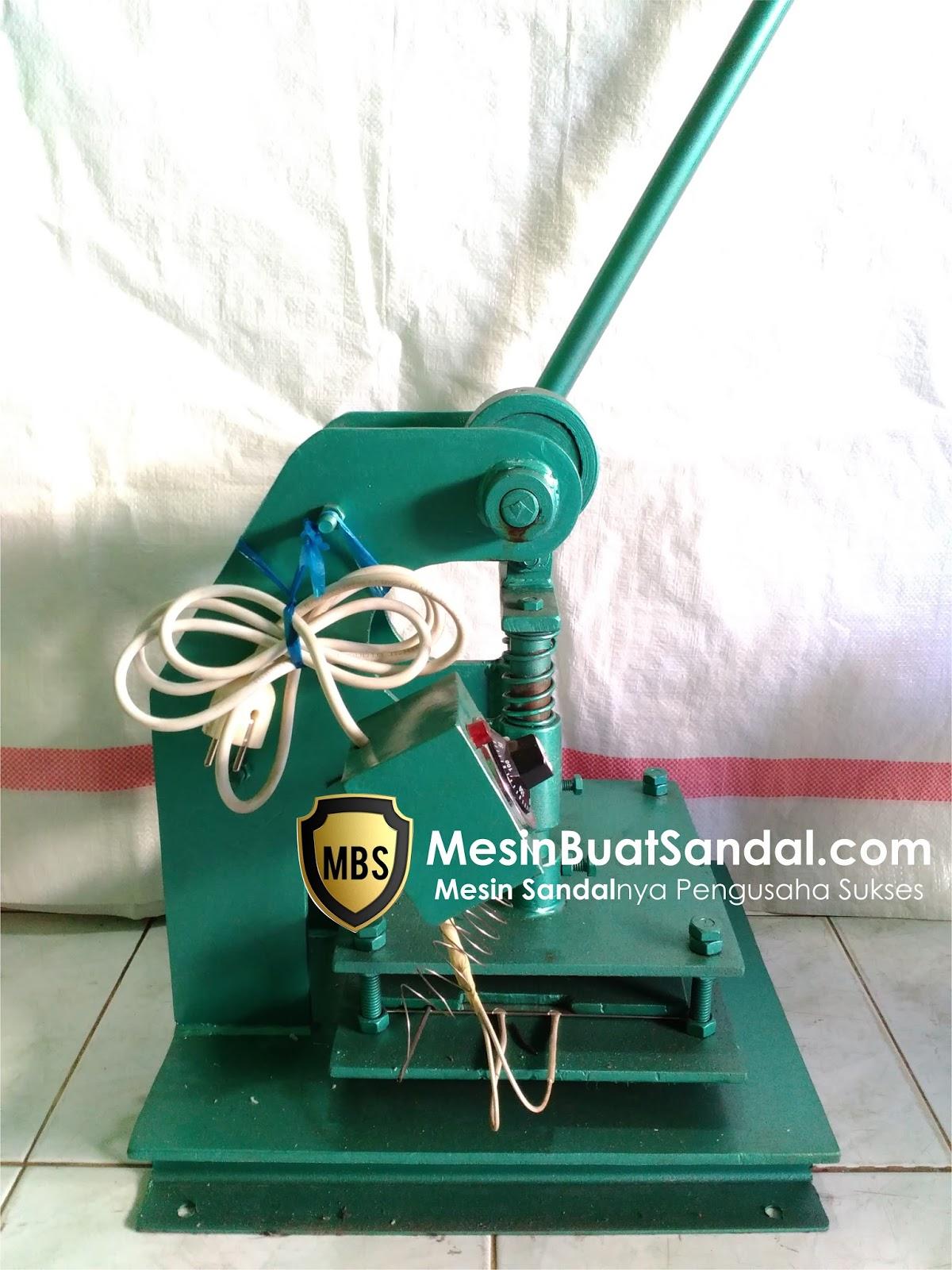 Mesin Sandal Manual Mesin Sandal Jepit Alat Pembuat Sandal Jepit