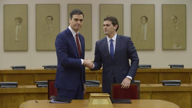 Vídeo Pedro Sánchez sobre los acuerdos con Ciudadanos