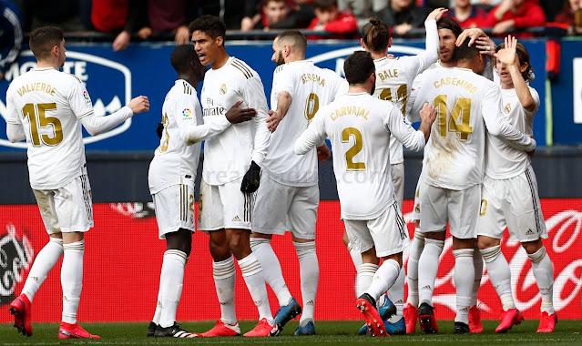 تعرف علي قائمة ريال مدريد لمواجهة ألافيس في الدوري الاسباني