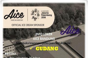 Lowongan Kerja Karyawan Gudang Aice Bandung