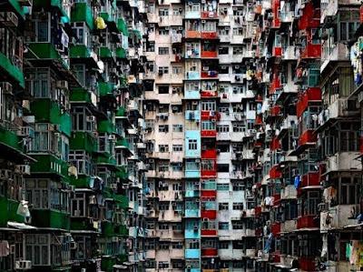 potret apartemen di hongkong