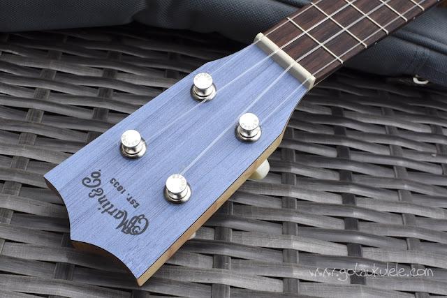 Martin OX Bamboo Soprano Ukulele headstock