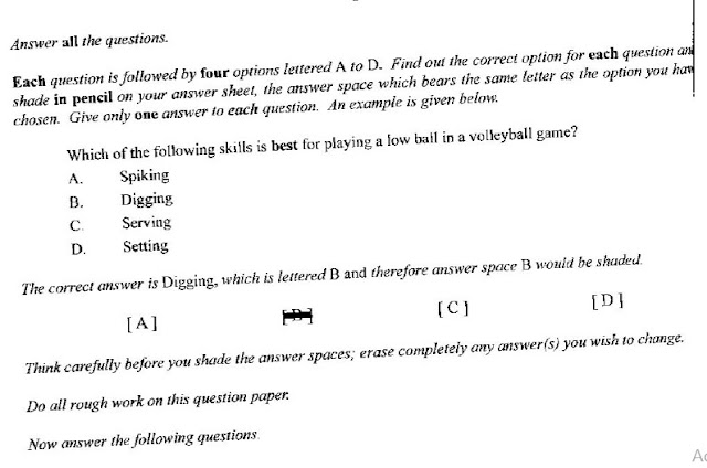 physical education questions and answers pdf