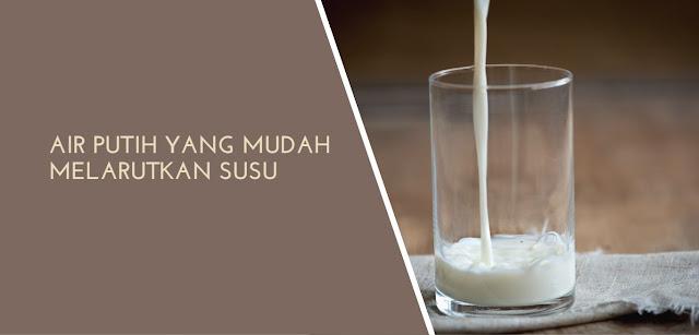 Air Putih Yang Mudah Melarutkan Susu - Heiko Water