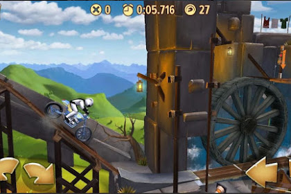 Game Balap Motor Liar Android Trials Frontier Mod APK