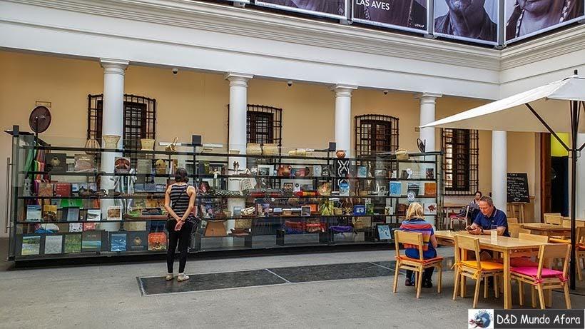 Museu Chileno de Arte Pré-colombiana em Santiago