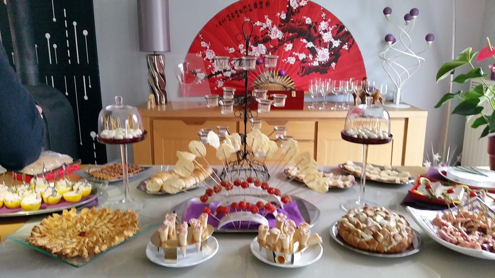 Le buffet de martine api buffet dinatoire ap ritif dinatoire for Decoration table buffet dinatoire