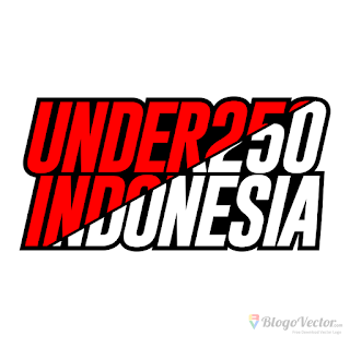 UNDER250 INDONESIA Logo vector (.cdr)