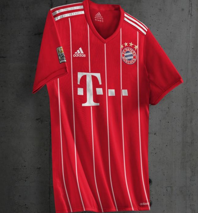 divisa FC Bayern München personalizzata
