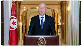 عاجل قيس سعيد يتخذ قراره: برحيل كامل الحكومة