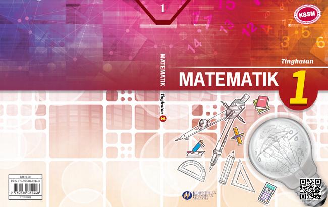 Buku teks Matematik Tingkatan 1 format PDF