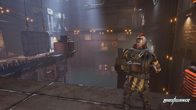 Screenshot Gameplay Ghostrunner