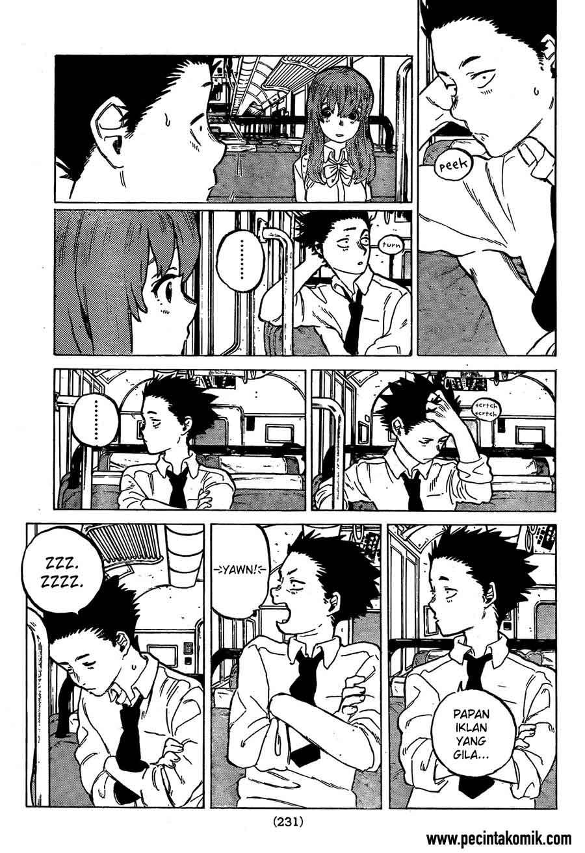 Koe no Katachi Chapter 15-18