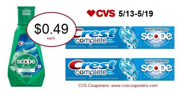 http://www.cvscouponers.com/2018/05/crest-scope-mouthwash-or-crest.html