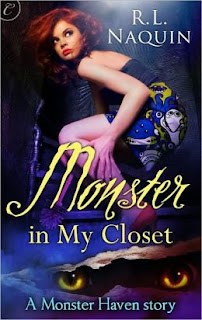 Monster in My Closet by R. L. Naquin (Monster Haven #1)