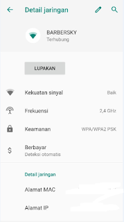 Cara Ganti IP Address Android Agar Mau Connect WiFi