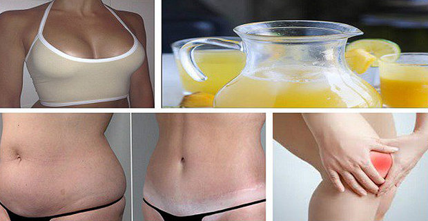Lose Weight,Firm Your Breast And Rid Your Body Of Toxins With This Drink!