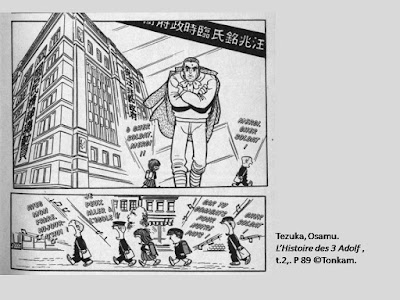 Tezuka, Osamu. L'Histoire des 3 Adolf, t.2, p.89 © Tonkam