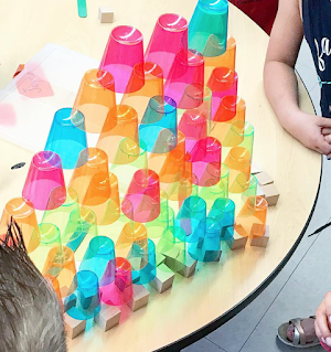 cup stacking with mini cups