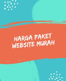 Harga Paket Website Murah Surabaya
