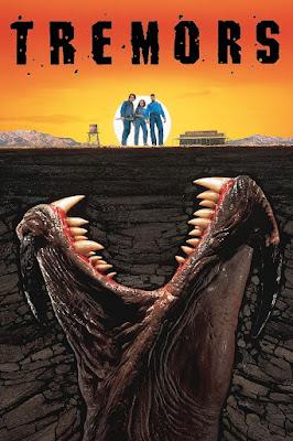 Póster película Temblores - 1990