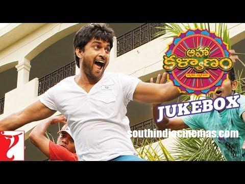 Aaha Kalyanam - Songs- Juke box TELUGU - Nani   Vaani Kapoor - South