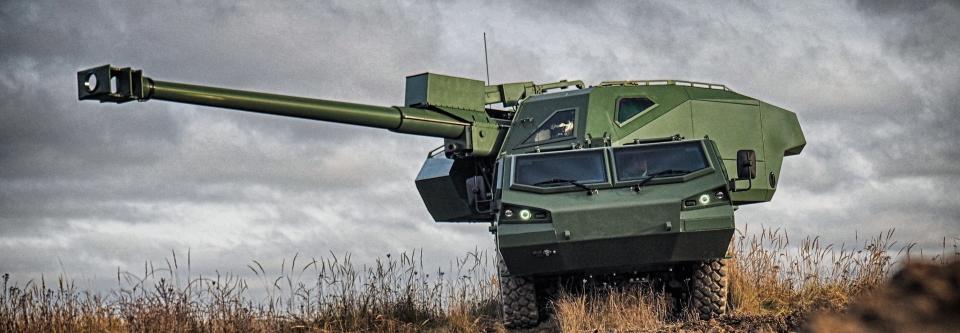 Excalibur Army на IDEX 2021 представить нову САУ DITA