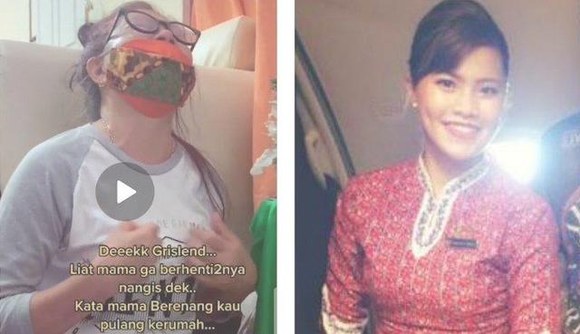 Berenang Kau Boru - Tangisan Ibu Pramugari Gloria Sinaga Korban Sriwijaya Air SJ-182