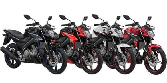 Varian warna Yamaha Vixion Update Baru