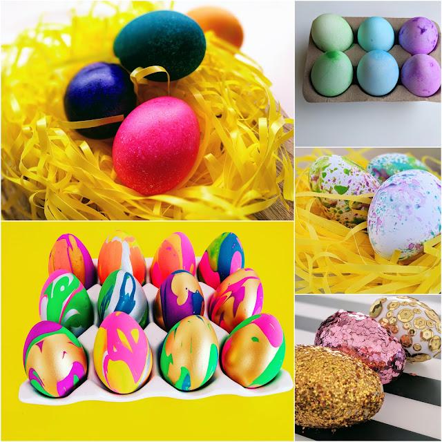 Easter egg decorating ideas