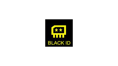 Black ID logo