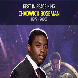 Actor Chadwick Boseman, who played Black Panther, dies of cancer at 42