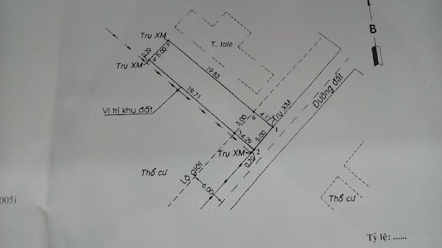 Cần bán lô đất 120m2, khu phố 3 phường Thạnh lộc Quận 12