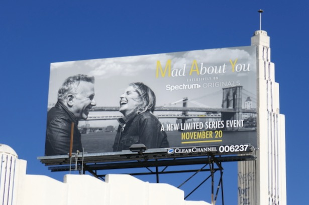 Mad About You series revival billboard