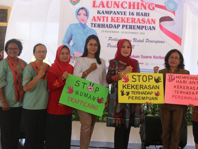 Widya Murad Ismail Ajak Hentikan Kekerasan Terhadap Perempuan