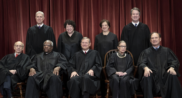 Supreme Court term found Trump's justices, and others, forming unpredictable alliances