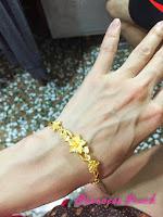 婆婆送的金手鍊