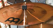 Meinl china type: Conventional bell, upturned rim