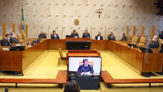 stf divulga calendario julgamentos segundo semestre