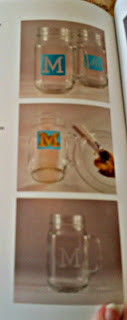 Mason Jar Crafts for Kids jar sample instruction page