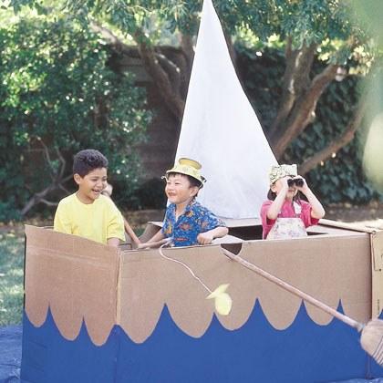 Backyard Project: Ship Ahoy!