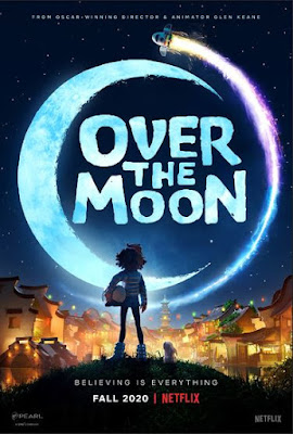 Over The Moon 2020 720p | 480p WEB HDRip ESub x264 [Dual Audio] [Hindi 5.1ch – Eng] 900Mb | 300Mb