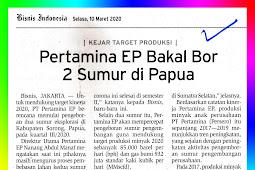 Pertamina EP Will Drill 2 Wells in Papua