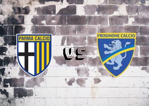 Parma vs Frosinone  Resumen